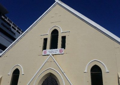 Hp and paint Salvation Army Wynberg after