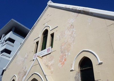 Hp and paint Salvation Army Wynberg before