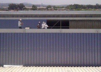 Replace roof sheets Steelpark
